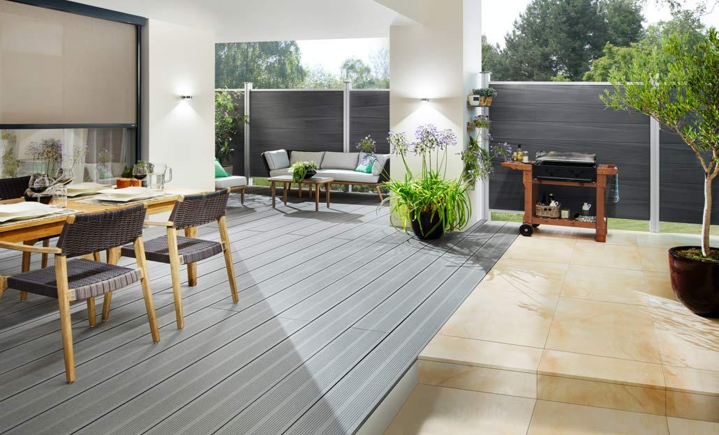 Hochwertige Terrassendielen im modernen Stil   Holz Kolm in Tüßling